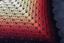 crocher shawls