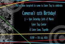Birthday Party Ideas / by Lisa Rookard