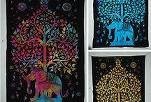Bohemian mandala Indian tapestry | www.artingle.com / www.artingle.com