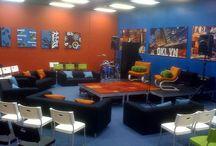 youth room. / by Kayla Craig