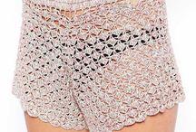 Pantaloncini All'uncinetto