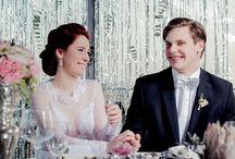 Rose Quartz & Silver glamour wedding idea / wedding inspiration more http://www.abcslubu.pl/nasze-sesje-slubne/4995/roz-i-srebro-w-stylu-glamour-pomysl-na-wesele-w-eleganckim-stylu