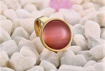 ++Designer Damen Edelstahl Ring 316 L (Chirurgenstahl)+ Opal+Gr 52 (16,5 mm Ø)++ 15,90 Euro