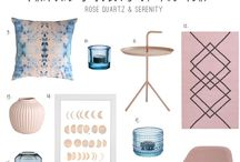 Pantone's 2016 Colours of the Year: Serenity & Rose Quartz
