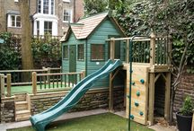 Jungle gym/Wendy house/fort