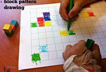 Spatial relation activity for pre schoolers
