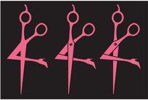 hairdressing logos