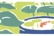 Rubber stamp illustrations