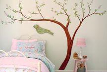 Detská izba,steny,dekor
