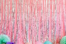 > BACKDROPS & PHOTOPROPS < / Colorful backdrop ideas and photo props for your party!