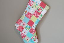 Quilted stockings / by Kim Connelly