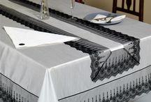 Salon masa örtüleri