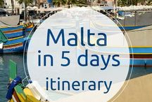 Travel Europe: Malta / Inspiration for your upcoming trip to Malta.