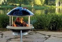 Barbecues / Outdoor cooking. Outdoor kitchen.  BBQ. Barbecues