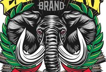 Skateboard Graphic Art - Logos / Collection of logos, brands and everything that identifies a skateboard company.