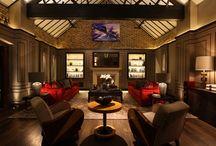 Reception & Living Room Lighting / Reception & living room lighting design by John Cullen Lighting