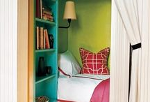 cool bedrooms  / by Vicky Roy