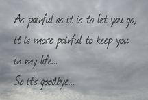 the hardest Goodbye / Afscheid nemen doet pijn, ook al is het de beste beslissing.  Mag je ondanks dat het je eigen beslissing was, verdriet voelen?!