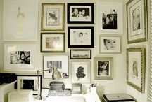 Gallery wall / by Michelle Rozopoulos