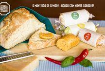 Manteigas aromatizadas / Flavoured butter / As manteigas da Leitaria