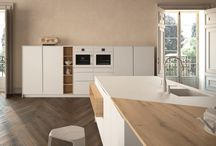 Modern Designer Kitchens / Peter Bernard Kitchen Design Dublin is working with our suppliers to bring our customers clean, crisp and beautiful Modern Contemporary Kitchens styled with Lineaquattro Signum Flag Range.