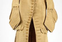 1680 - 1720 male / Male clothing and accessories.