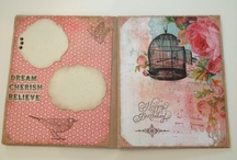PAPER CRAFTING - junk journals / by Shannon Winters