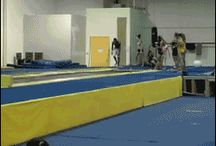 Crazy gymnasts