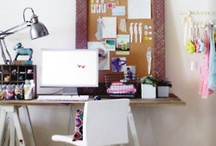 home: office / by Grace Kim