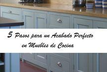 ideas para cambiar muebles de cocina