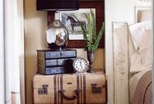 Vintage Steam trunk & Suitcases