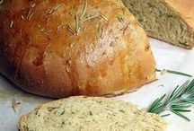 Breads, Rolls, Pizza Dough and Bread Sauces