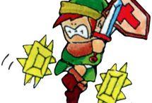 The Legend of Zelda NES / Official artwork and screenshots from the original #LegendofZelda #NES Game. More info on this title @ http://www.zelda-temple.net/the-legend-of-zelda