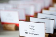 Wedding Escort & Place Cards / Our favorite ideas for stunning and creative wedding place cards, seating charts and displays.