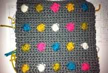 Crochet squares and other shapes / Squares, circles, hearts and other crocheted shapes