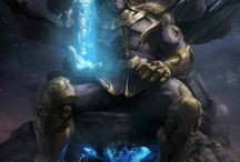 Comic Art - Thanos