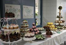 Bake Sale Display