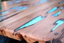 Gestaltungs Idee / Holz