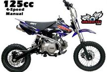 SSR 125 Pit Bike, 4-Speed, Semi Automatic / 4-Speed Semi Automatic Transmission means clutchless shifting to make it easier for new riders. A little larger and  features Dual Disc Brakes. CARB Certified for sale in CA - RED STICKER