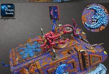 Warhammer Tzeentch / Chaos Daemons of Tzeentch Disciples of Tzeentch everything Tzeentch-ish