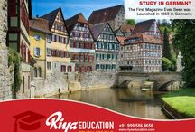 STUDY ABROAD IN GERMANY CONSULTANTS IN GOA, INDIA - RIYA EDUCATION / Germany is one of the most attractive locations for students worldwide. Students who wish to study in Germany get in touch with Riya Education. #studyinGermany #whystudyinGermany #Germany #educationinGermany #abroadeducationinGermany