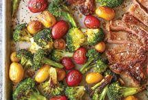 Recipes - sheet pan dinners!