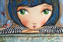 i heart ART faces / by Laura Almanza