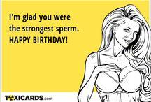 Birthday / Birthday cards for all!
