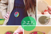 DIY : Cross Sitch & Embroidery