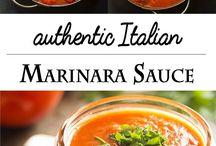 Sauce marinara italienne