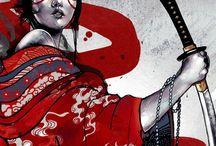 Tattoo - Geisha Samuraj
