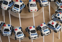 Police car party