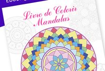 Livro de Colorir - Ebook Grátis / by Vera Moraes