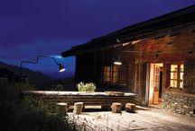 Applique extérieure / Applique pour éclairer la terrasse, devant la porte de la cuisine et de la salle à manger